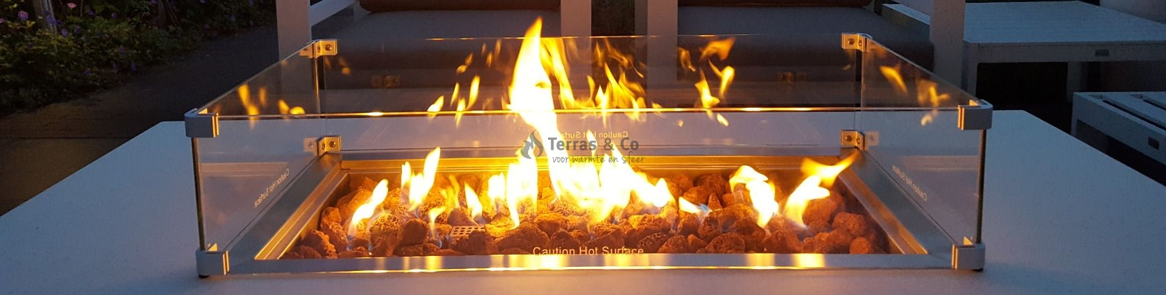Web store for the most beautiful Fire Tables, Built-in Burners & Outdoor Fireplaces!