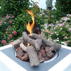Feuertisch, cheminées de table, Vuurtafel